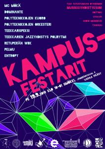 Campus festival poster 2014