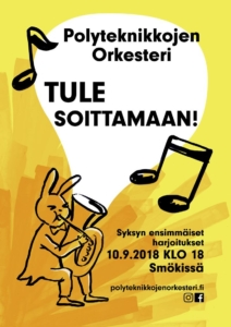 Join orchestra poster 2018